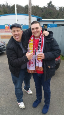 CJ and Marcel at Ebbsfleet