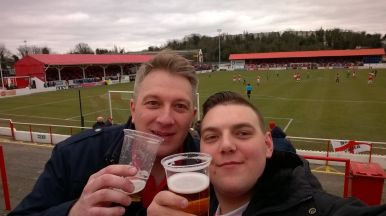 Marc and Marcel at Ebbsfleet