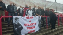 Tudors fans at Welling in 2016/17