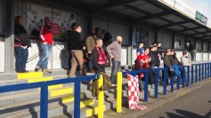 Tudors fans at Havant & Waterlooville