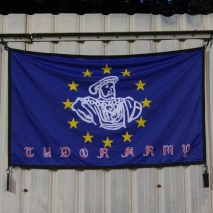 The Tudor Army EU flag