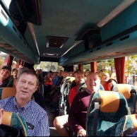 Tudors fans on their way to Gloucester, 2016/17 FA Cup