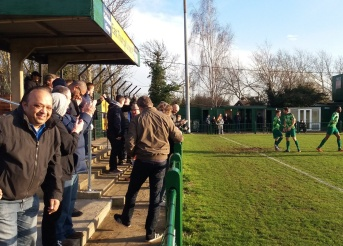 Tudors Fans at East Thurrock United, 2017