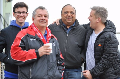 Tudors fans at Bath, 2017