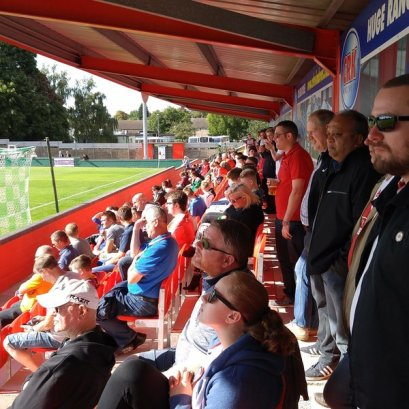 Tudors fans at home to Bishops Stortford