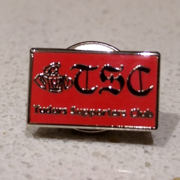 TSC Nickel Badge, 9mmx15mm, £4.