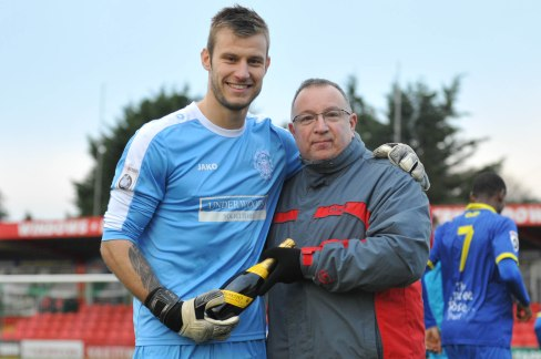 Laurie was presented with his award by TSC Membership Secretary Danny Green